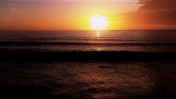 Thumbnail for Surf at Sunset