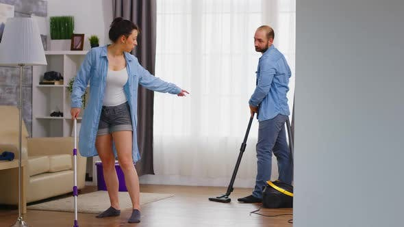 Thumbnail for Cleaning the Floor
