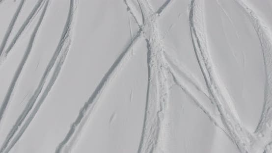 Thumbnail for Traces of Skis in the Powder Snow Mountain
