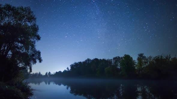 Thumbnail for Stars Movement Over River