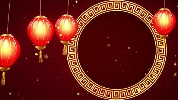 Chinese Lanterns Hanging
