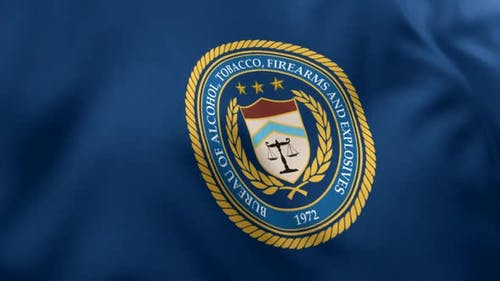 Bureau of Alcohol Tobacco Firearms and Explosives Flag