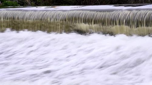 The River Falling From The Ledge