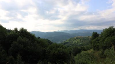 Mountains 4k Timelapse Nature