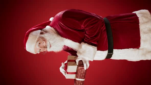 Thumbnail for Santa Holding Christmas Presents