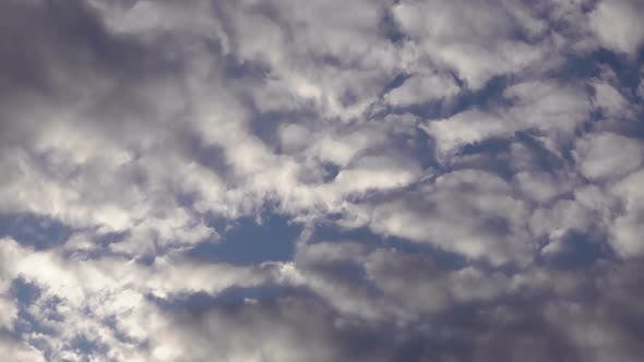 Puffy Smoky Spring Rain Clouds