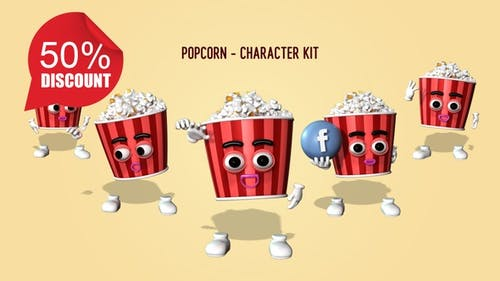 Popcorn - Character Kit