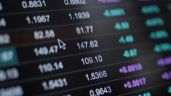 Online Stock Traders Computer