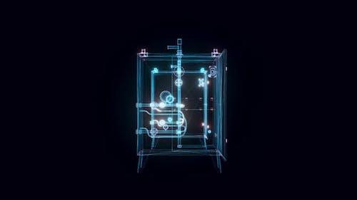 Torch Ignition Hologram Rotating 4k