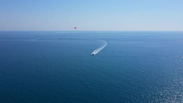 Thumbnail for Parasailing In The Mediterranean Sea