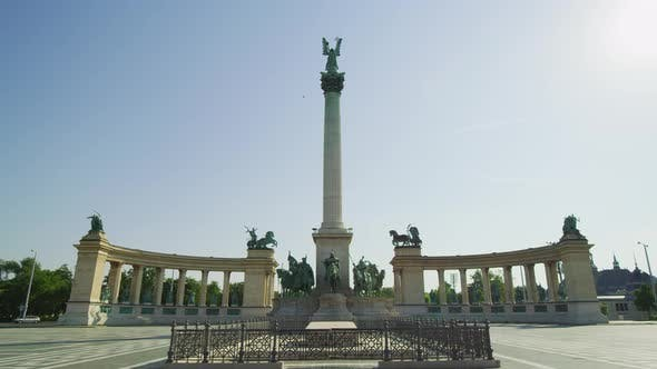 Thumbnail for The Heroes' Square in Budapest