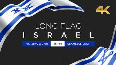Long Flag Israel