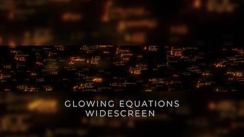 Écran large des équations d'or