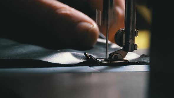 Thumbnail for Sewing Machine Needle in Motion