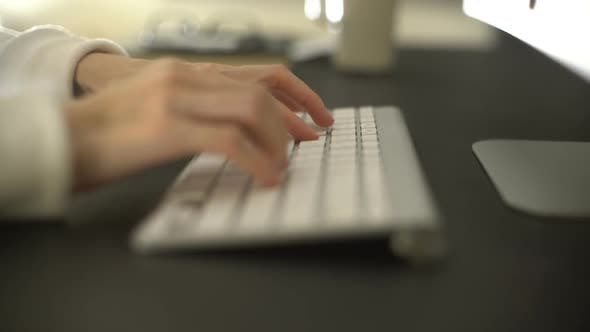 Thumbnail for Typing On Computer