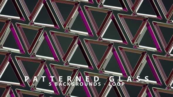Thumbnail for Patterned Glass Background Set