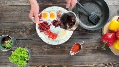 Food Preparation, English Breakfast