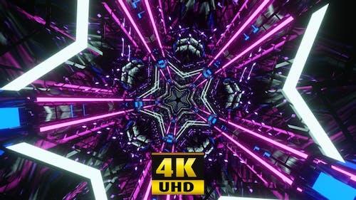 Disco Stars Vj Loop 4K