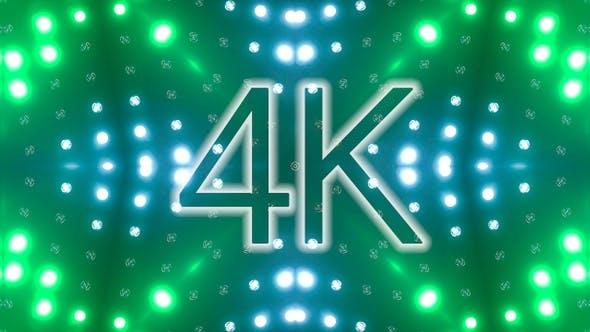 Vj Lichter blinkend 10er Pack 4K