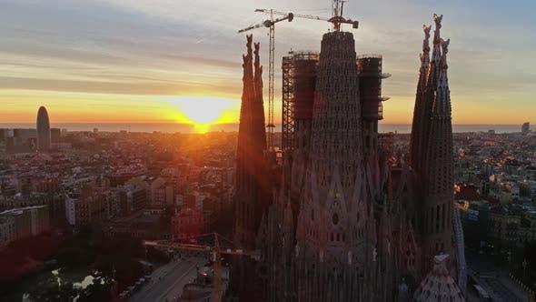 Thumbnail for Sagrada Familia Temple in Barcelona, Spain