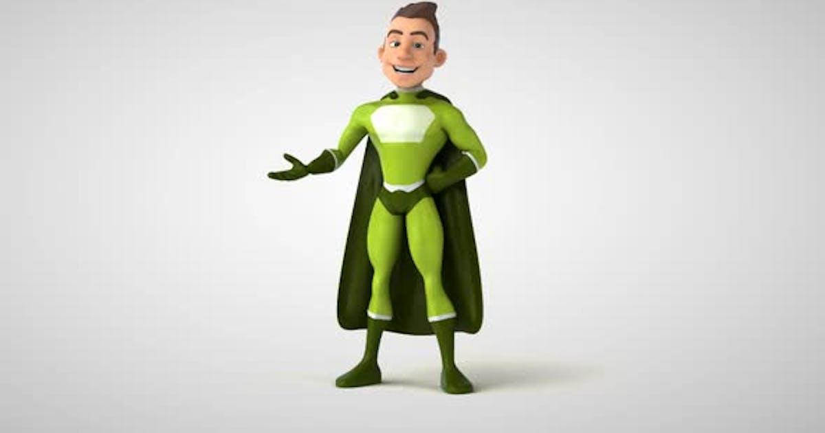 10 cartoon superheroes
