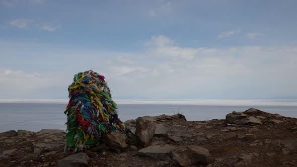 Thumbnail for Shaman Pole in a Sacred Place on Lake Baikal