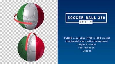 Soccer Ball 360º - Italy