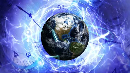 Earth and Clocks, Time Travel Concept