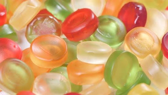 Coloré bonbon gommeux