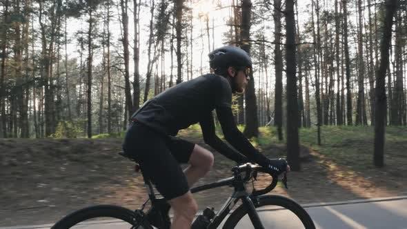 Thumbnail for Cyclist on bike