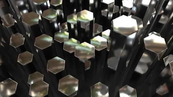 Thumbnail for Metal Hexagon Panning 04
