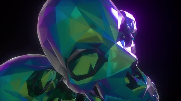 Thumbnail for Retro Pyramid Skulls 4k