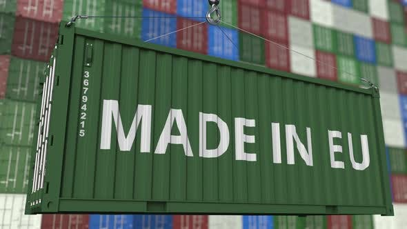 Thumbnail for Container with MADE IN EU Caption