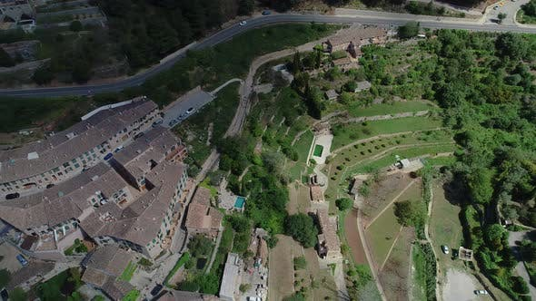 Thumbnail for Flight Over Valldemossa on Mallorca, Balearic Islands, Spain