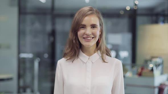 Thumbnail for Portrait Of Businesswoman Smiling