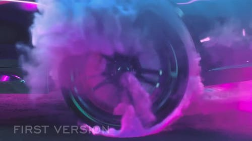 Drift Wheels With Smoke Pack