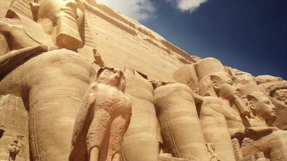 Temples of Abu Simbel Egypt