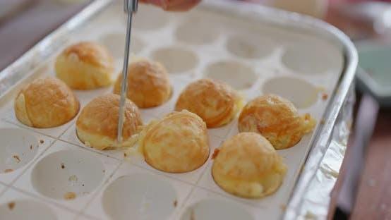 Thumbnail for Make takoyaki at home