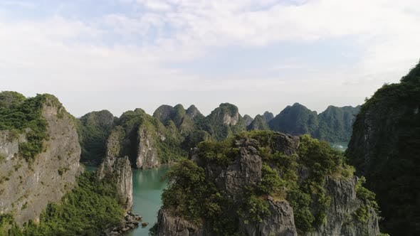Thumbnail for Aerial view of Halong Bay in Vietnam