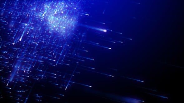 Thumbnail for Particles Rain