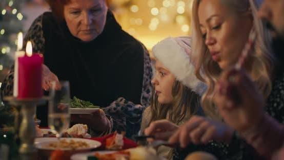 Thumbnail for Multi Generational Females on Family Dinner