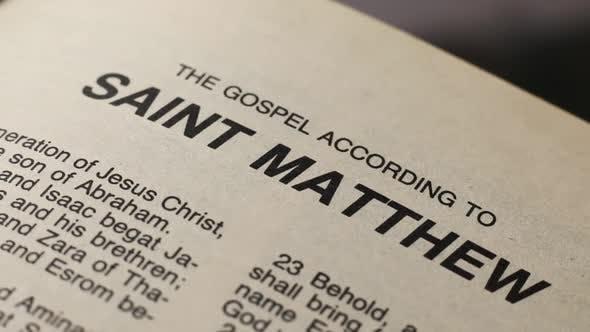 Thumbnail for Saint Mathew Holy Bible