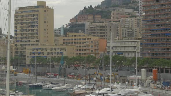 Thumbnail for Buildings by the seashore in Monaco