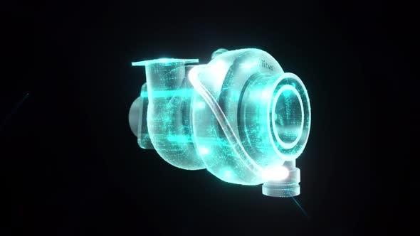Car Automobile Engine Turbo 4k