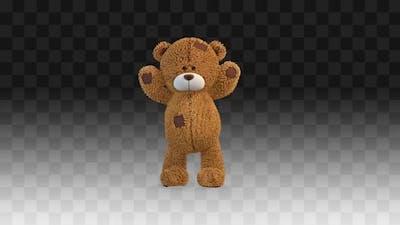Teddy Bear Greeting