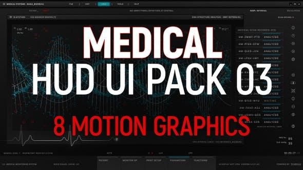 Thumbnail for Medical HUD UI Pack 03