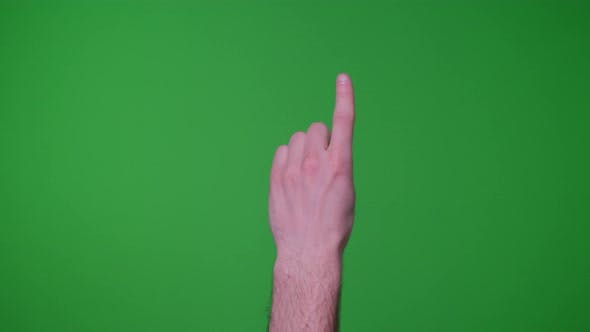 Thumbnail for Finger Gestures Pack  On Green screen