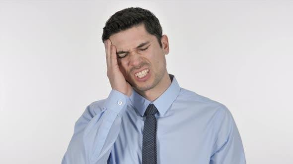 Thumbnail for Headache, Businessman in Stress