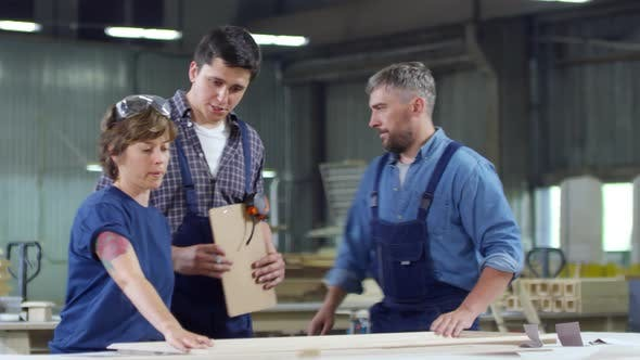 Thumbnail for Carpenters Working in Joinery