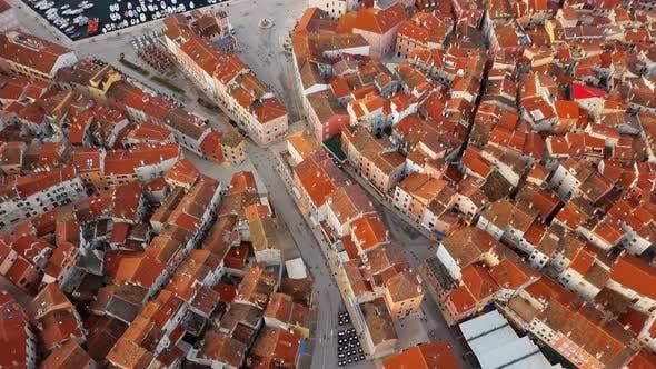 Thumbnail for Top Aerial View of Rovinj Croatia
